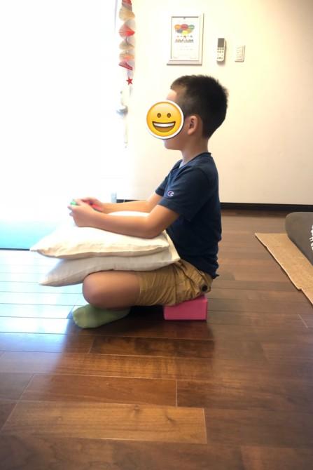 子どもの姿勢